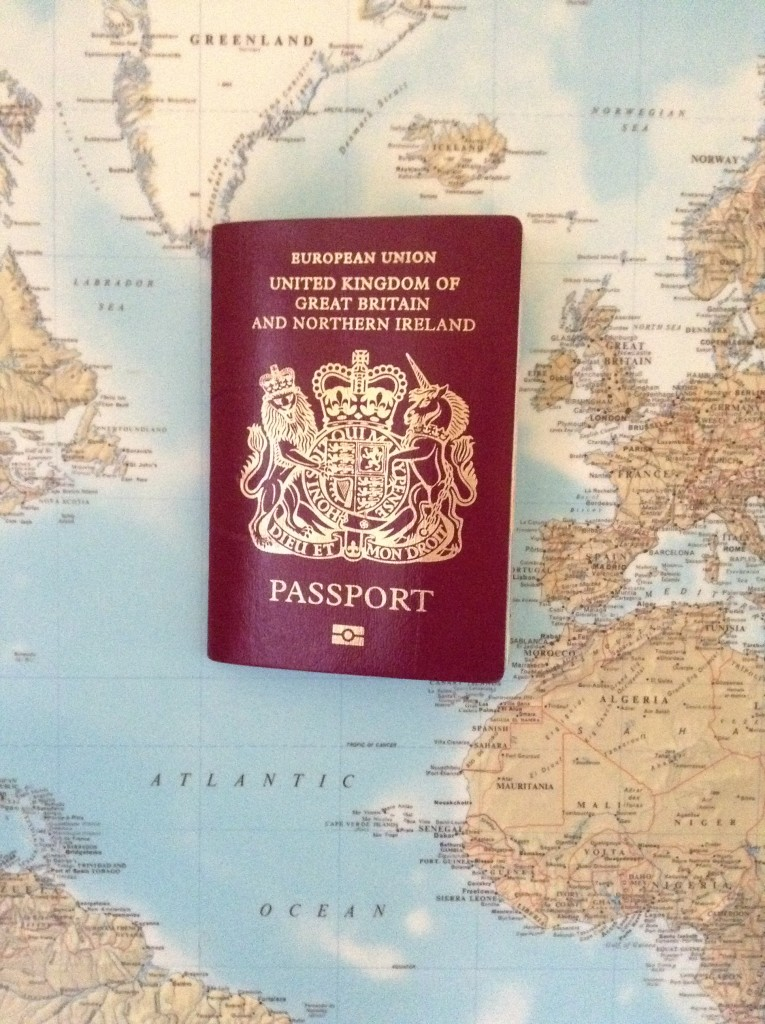 Passport is proof of age when claiming zero employers contribution for National Insurance of under 21s. UK Passport on Mercator Projection