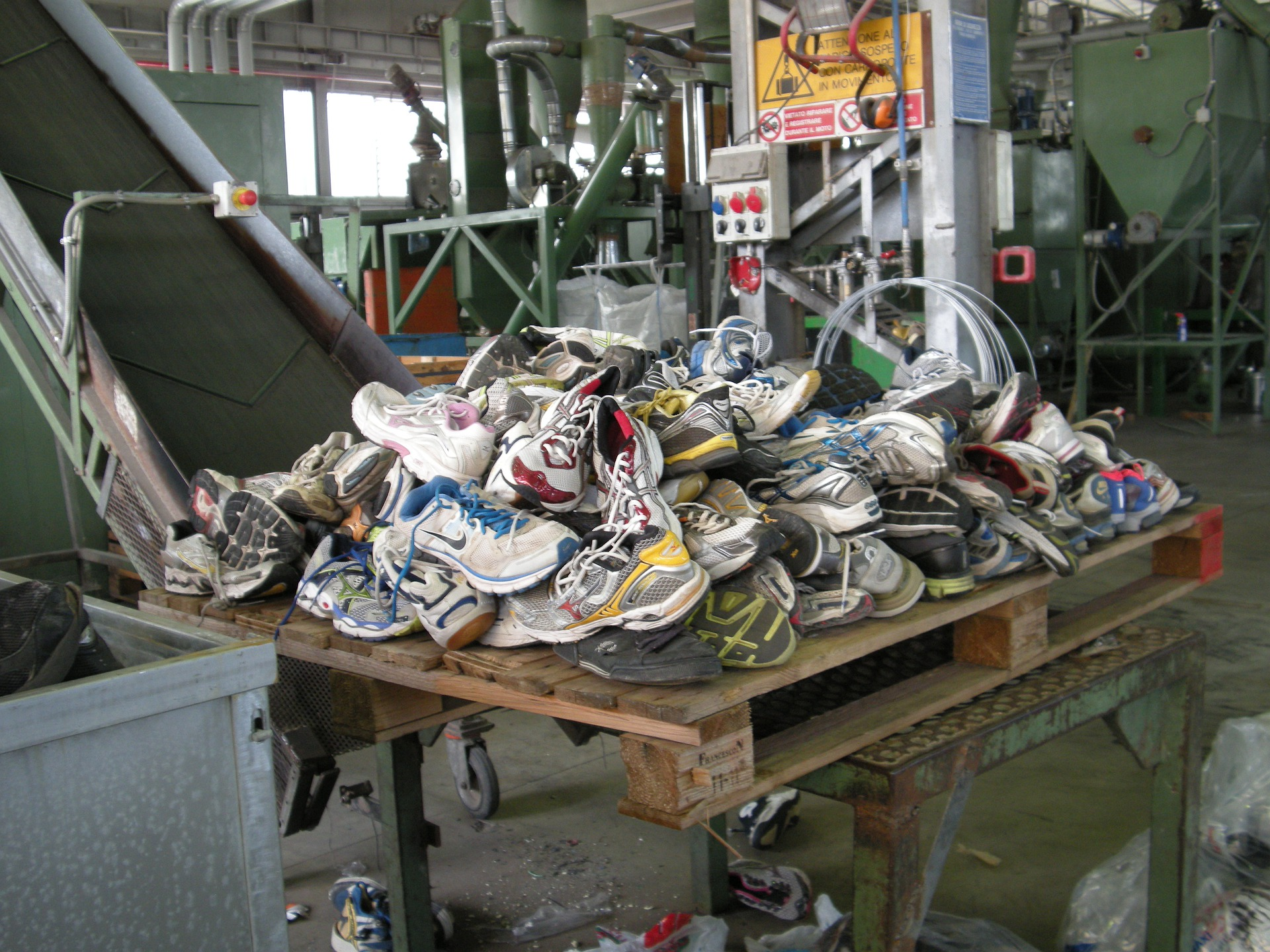 Even your old trainers can become part of the circular economy