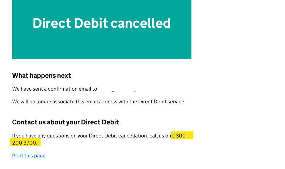 Deferred VAT Payment Cancel DDI 4