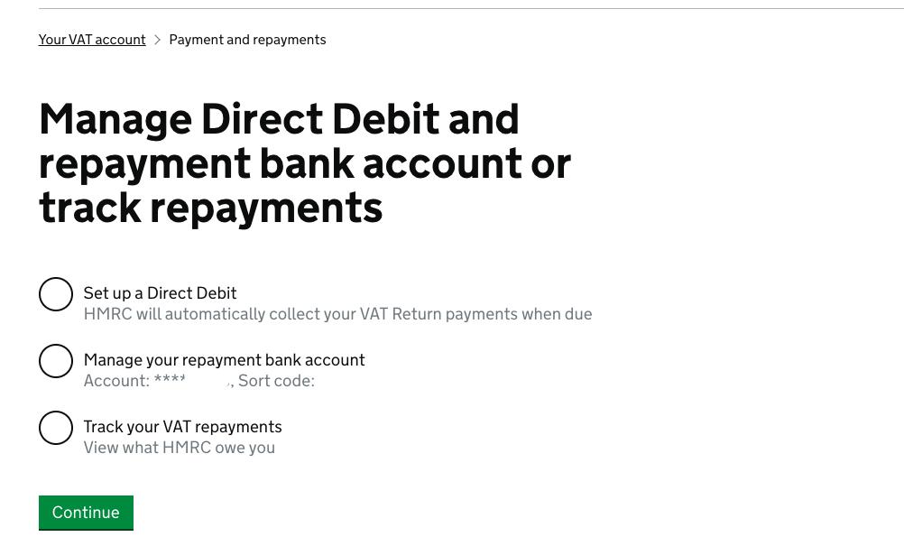 Deferred VAT Payment Cancel DDI 5
