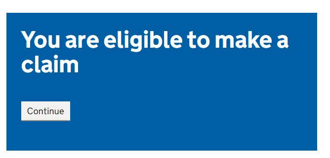 Check your SEISS eligibility - You are eligible