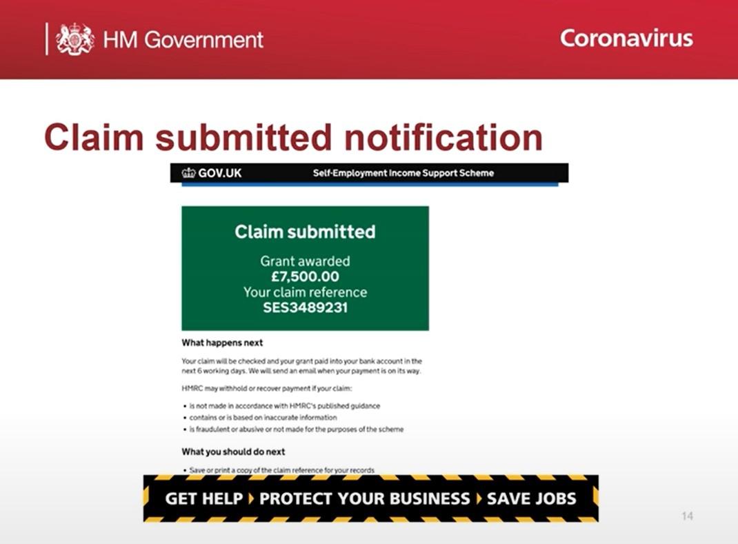 HMRC SEISS Claim Process Video
