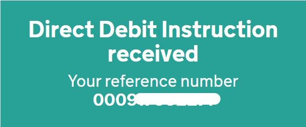 VAT DDI reference number