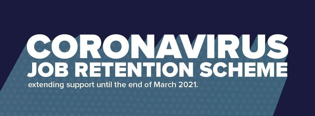 Corornavirus Job Retention Scheme Extended to March 2021